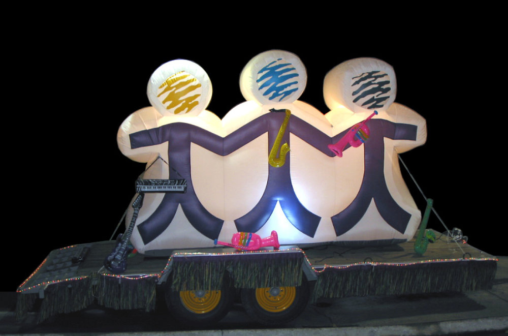 OCCU even purchased an inflatable parade float to support the brand's rollout.