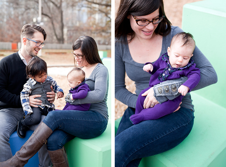 Family Portrait Photography at Piedmont Park, Atlanta, Georgia / Letters + Light