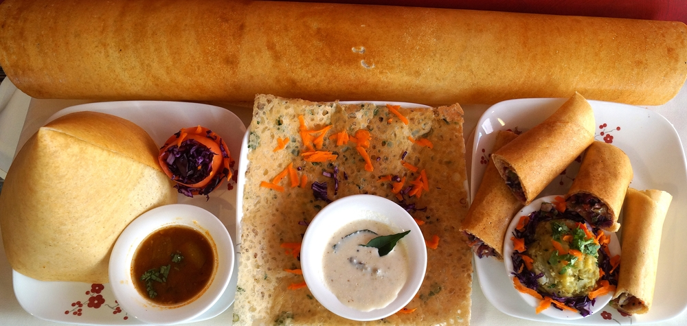 Varieties Of Dosa