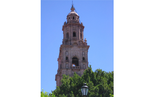 The Cathedral in Morelia.