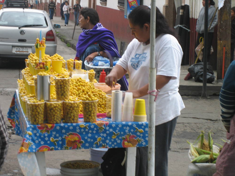There is alot to try in the markets of Patzcuaro