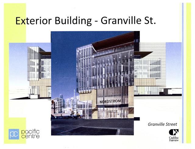 a2493698c023 Robson Granville rendering. Nordstrom s entrance will be 725 Granville  Street