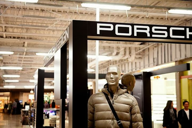 Porsche Design pop-up shop at Toronto's Sherway Gardens. Photo: Sherway Gardens