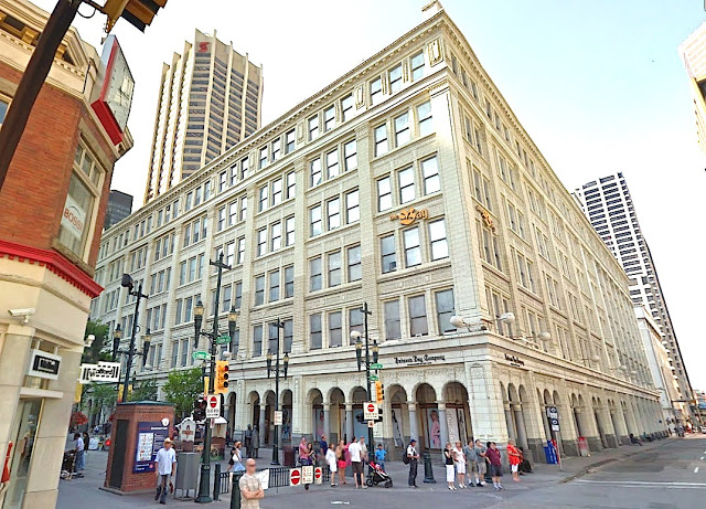 Hudson's Bay, Downtown Calgary. Photo: Google Streetview screenshot
