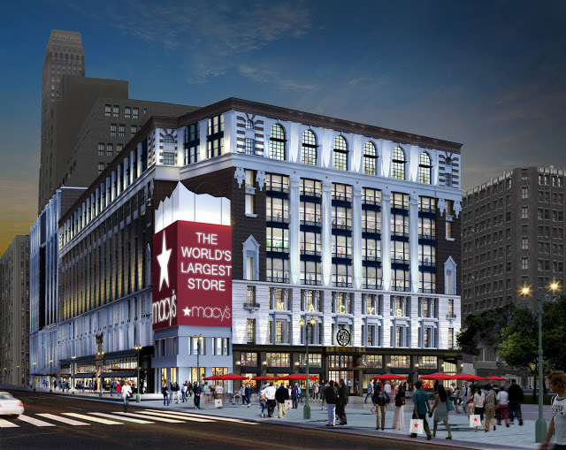 064c6cac3 Macy s Manhattan Getting Vuitton