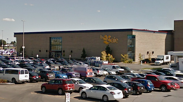 Hudson's Bay, Le Carrefour Laval. Photo: Google Streetview screenshot