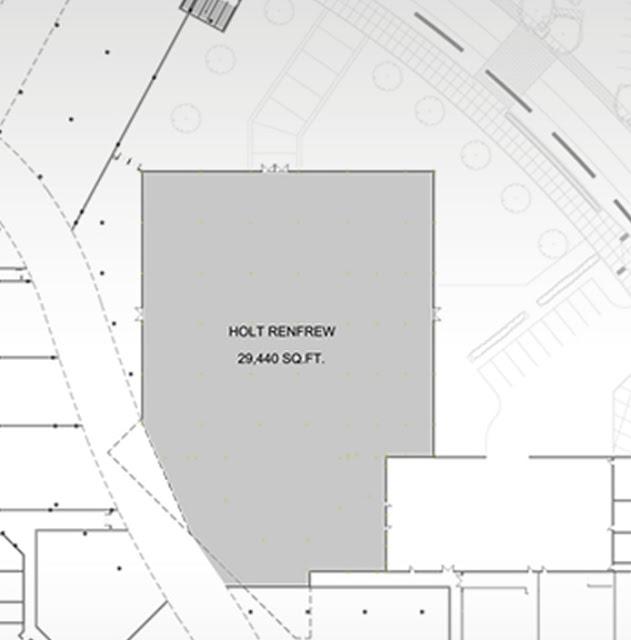 Fairview Mall Floor Plan: 29,440 Sq Ft Level Of The New Holt Renfrew, Sherway
