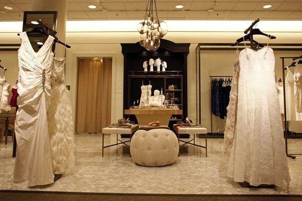 cb2142089929 Wedding Suite at Nordstrom, Chicago Michigan Avenue. Photo: William  Deshazer via Chicago Tribune