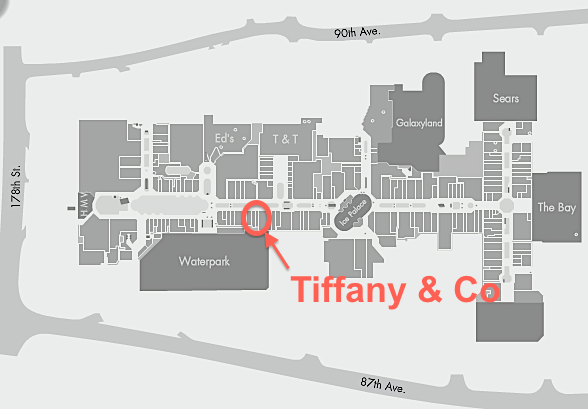 Tiffany & Co. Coming to West Edmonton Mall