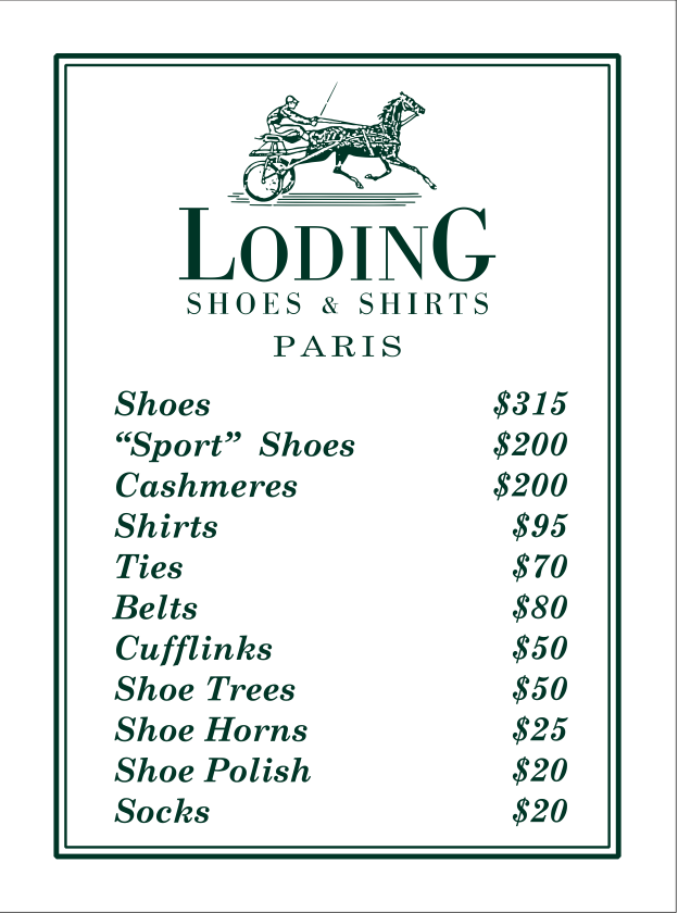 loding price list toronto canada retail insider.png