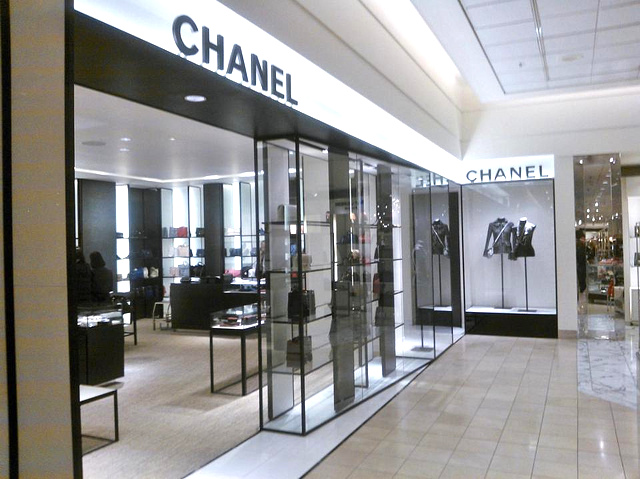 407f8acea85551 Chanel at Nordstrom in Downtown Seattle. Saks and Nordstrom will compete  for similar concessions in