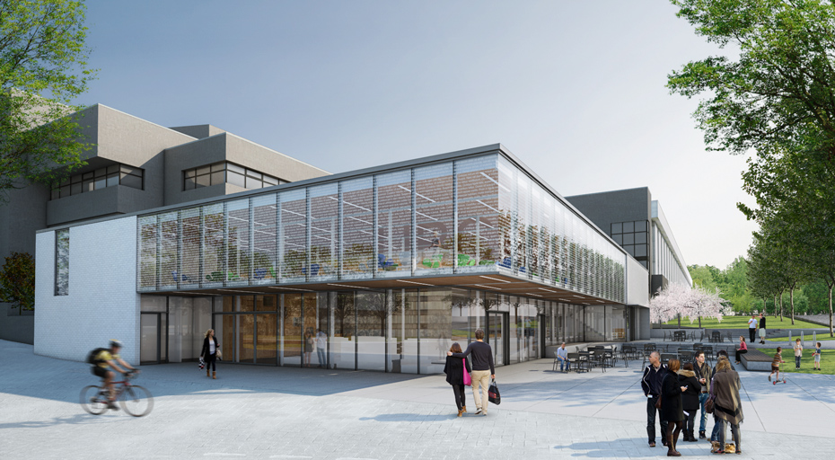 Rendering of the renovated University of British Columbia Bookstore. Image Source