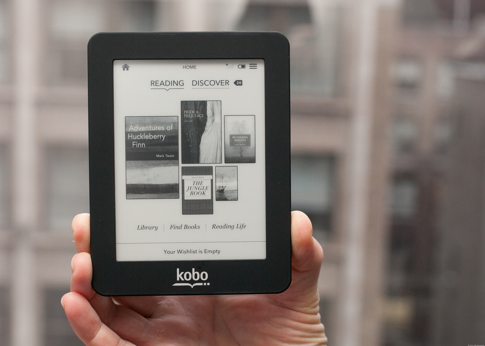 Kobo mini reader.  Image Source