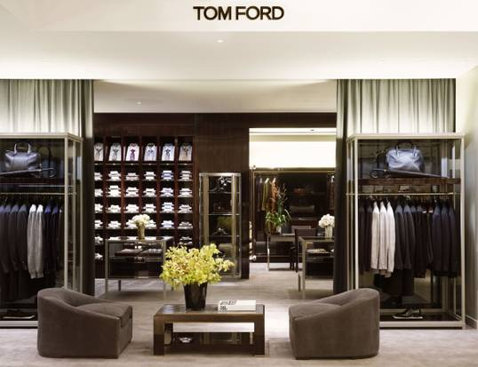 Tom Ford is one of several shops-in-stores that will feature prominently in the newly expanded Harry Rosen. Other shops will include Giorgio Armani, Brunello Cucinelli, Dolce & Gabbana, Zegna, Canali and others.  Image Source