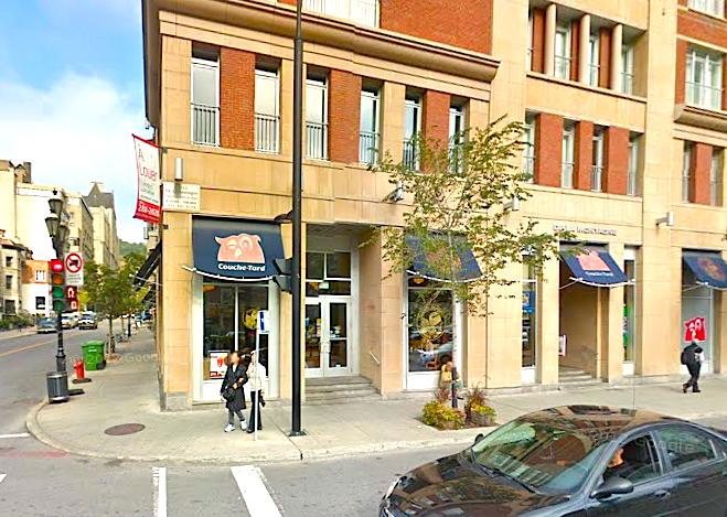 via Google Streetview: 1289 Boulevard de Maisonneuve West