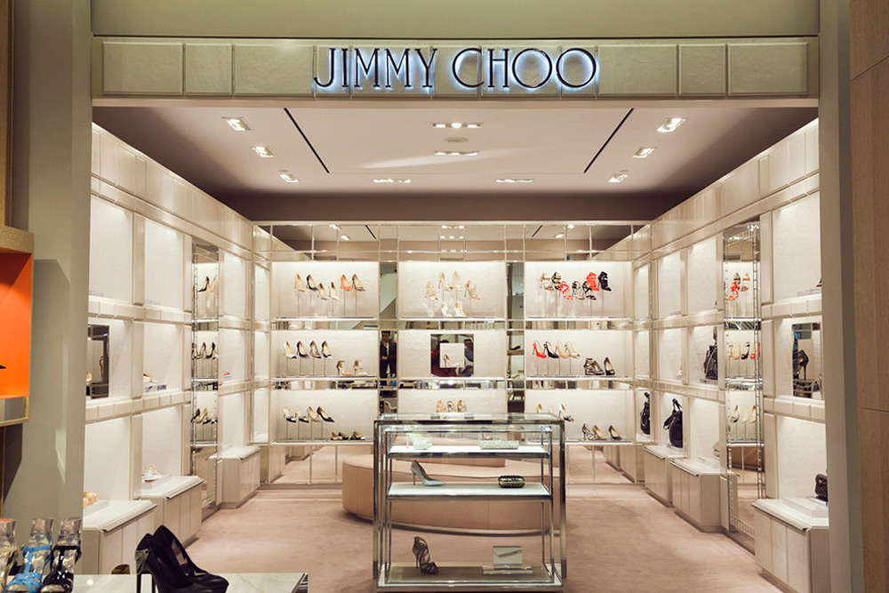 Jimmy Choo shop-in-store at Holt Renfrew, Yorkdale. Photo credit: Jenna Marie Wakani for Toronto Life Magazine.