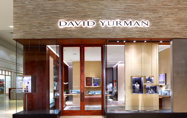 David Yurman's first Canadian store opened at Yorkdale in December of 2013. The company is scouting for Canadian retail space, including on Toronto's Bloor Street West. Photo: David Yurman.
