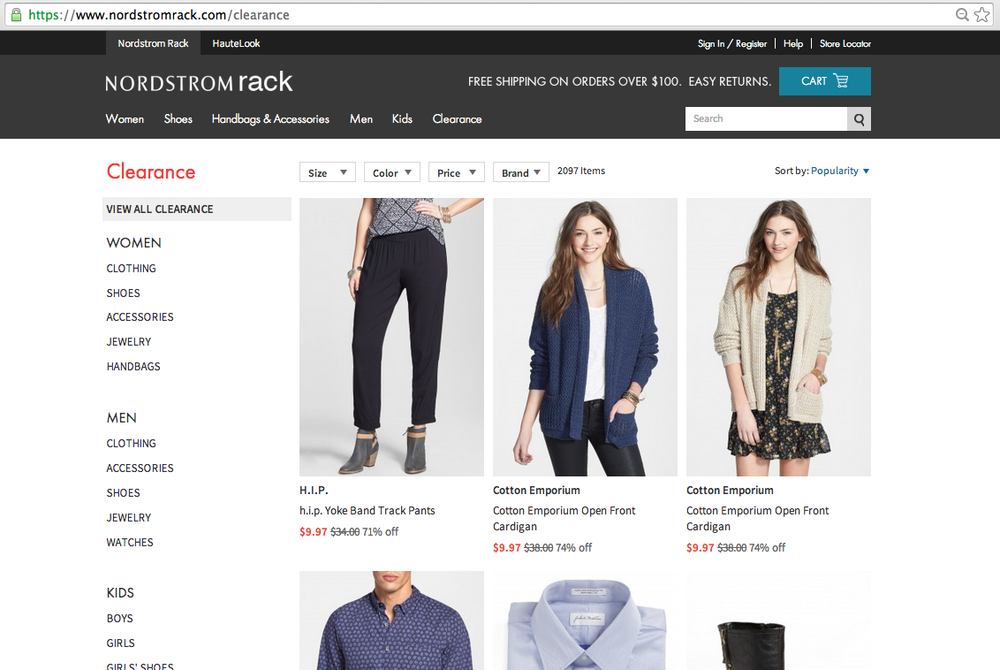Hence, Express gets a number nine in this list of websites like nordstrom rack. Official Website Link – aseangame.ml Pretty Little Thing. Pretty Little Thing, the online retailer is a women only store that has a variety of apparels, ranging from modest dresses to revealing swimsuits. They offer a thousands of must-have trends, and.