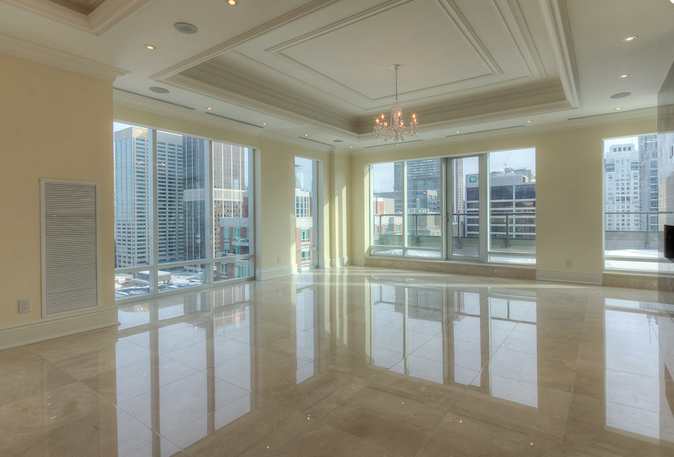 Opulent $12.9 million penthouse at 80 Yorkville Avenue, currently for sale.