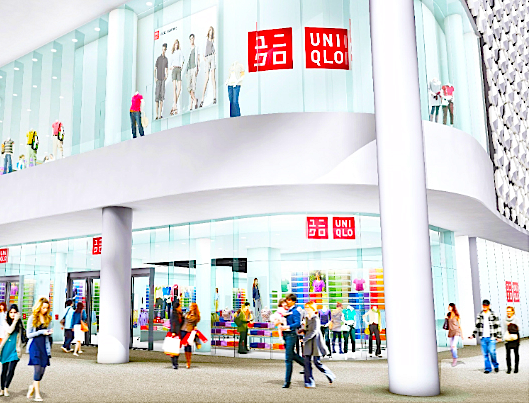 Rendering: Uniqlo