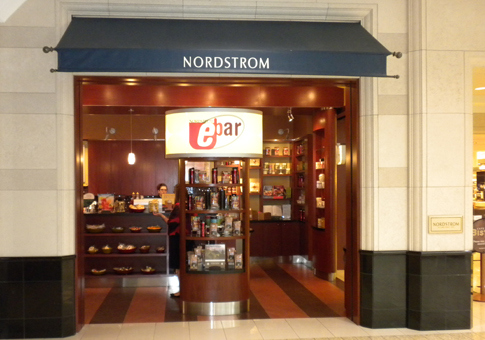 Nordstrom brings coffee concept eBar to its Canadian stores. Photo: Cherry Creek Shopping Centre (Denver).