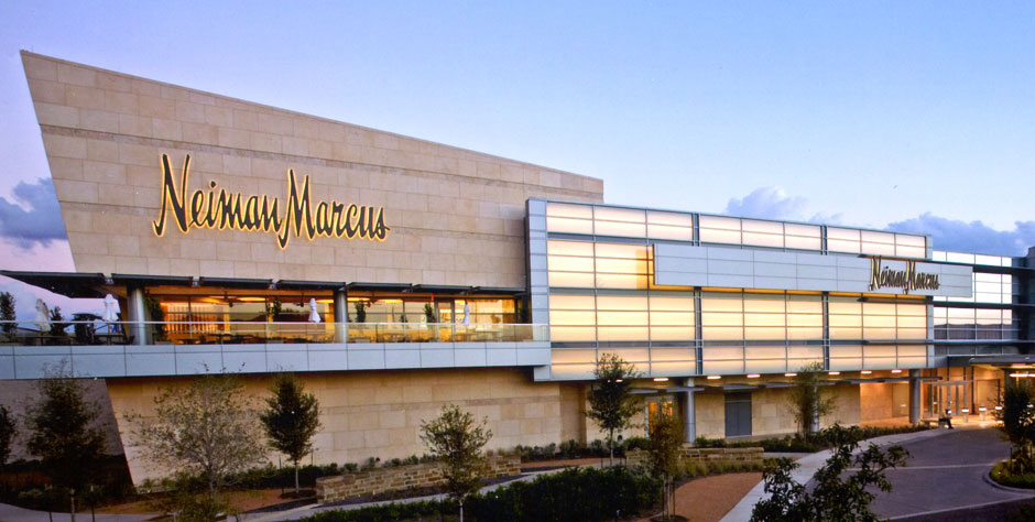 Luxurious American retailer Neiman Marcus trails Holt Renfrew's productivity, with annual per square foot sales of US $575.