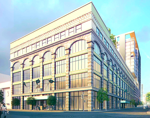 By 2017, Montreal's Ogilvy store will expand to 220,000 sq ft., becoming a combined Ogilvy/Holt's. Holt Renfrew will close its current Montreal store as a result. Rendering: City of Montreal.