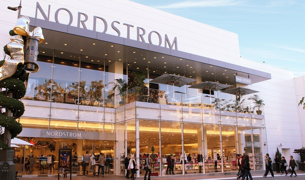 Windows abound: Nordstrom's location in The Grove, Los Angeles ...