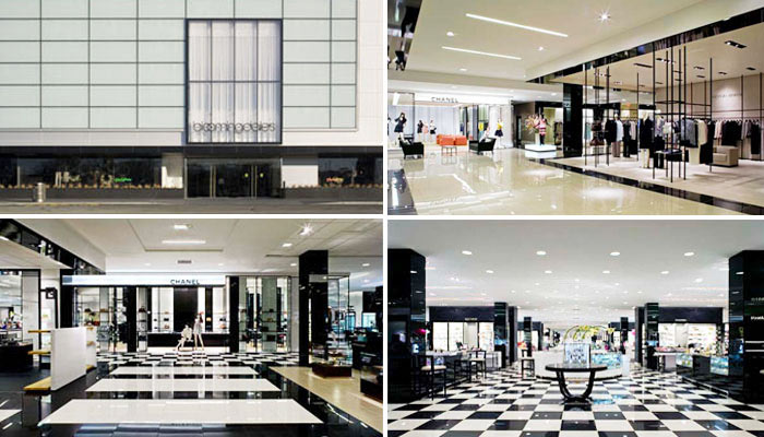 Bloomingdale's: bright and black-and-white. Photo: Maum Design (click to enlarge)