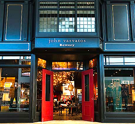 Canada's first John Varvatos store opened in November of 2013 at Toronto's Yorkdale Shopping Centre. Photo: John Varvatos.