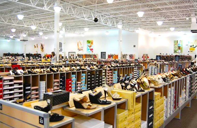 22,000 pairs of shoes will be available in each Canadian DSW store. Photo: www.privetandholly.com