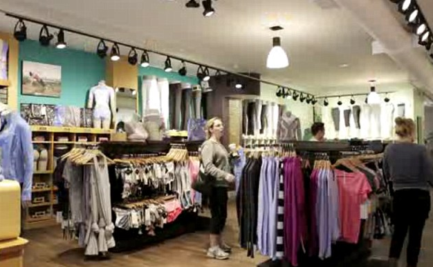 Lululemon's 17.57% profit margin propelled it to the #1 ranking of Apparal Magazine's top 50 most productive North American apparel companies. Photo: Lululemon