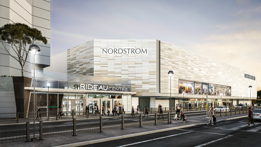 Rendering of Rideau Centre's Nordstrom. Photo: Rideau Centre