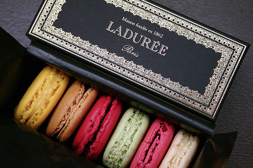 Ladurée's world famous macarons. Photo: Louis Beche