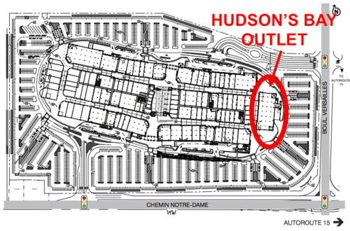 hudson's bay outlet
