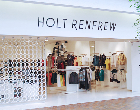Holt Renfrew at Toronto's Sherway Gardens will become the smallest in the chain, and its future is uncertain. Photo: Holt Renfrew