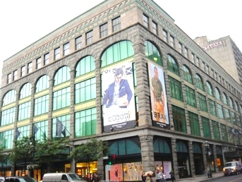 Ogilvy in Montreal: To be expanded and re-named. Photo: http://provincequebec.com
