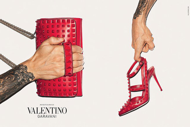 Valentino handbags and women's footwear will be carried at Calgary's Nordstrom store. Photo: Valentino