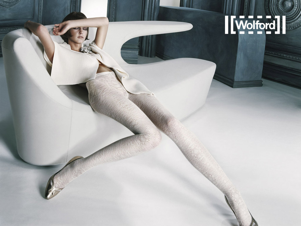 Wolford is one of several legwear brands at Calgary's Nordstrom. Photo: Wolford