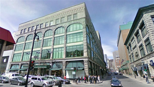 Canada's last Ports 1961 location was in Montreal's Ogilvy. Photo: Google.
