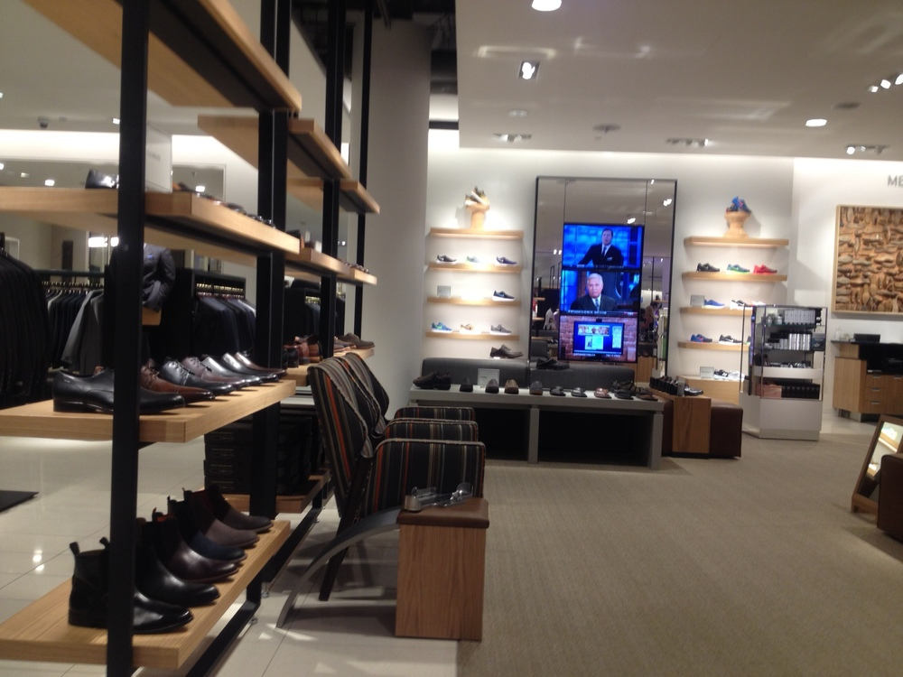 Thousands of pairs of shoes are available, including a well stocked men's department.