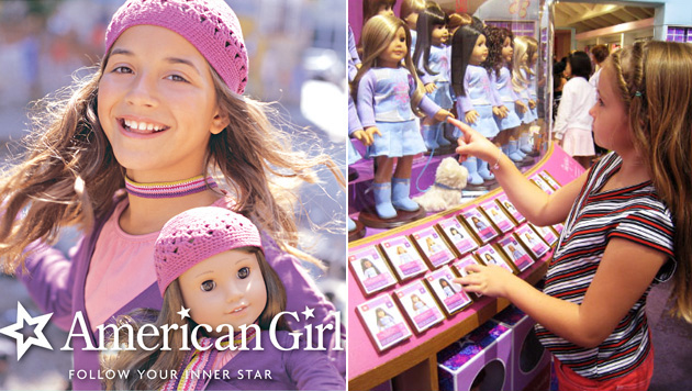 Some buyers prefer to choose dolls that look similar to themselves. Dolls are available to resemble a variety of ethnicities. Photo: American Girl.