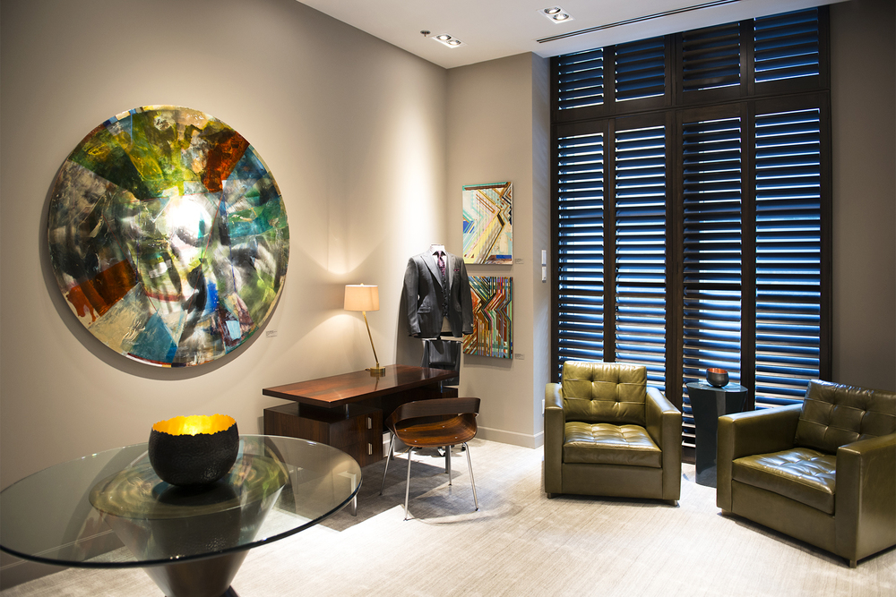 Shopping suite at Holt Renfrew Men. Photo: Holt Renfrew.