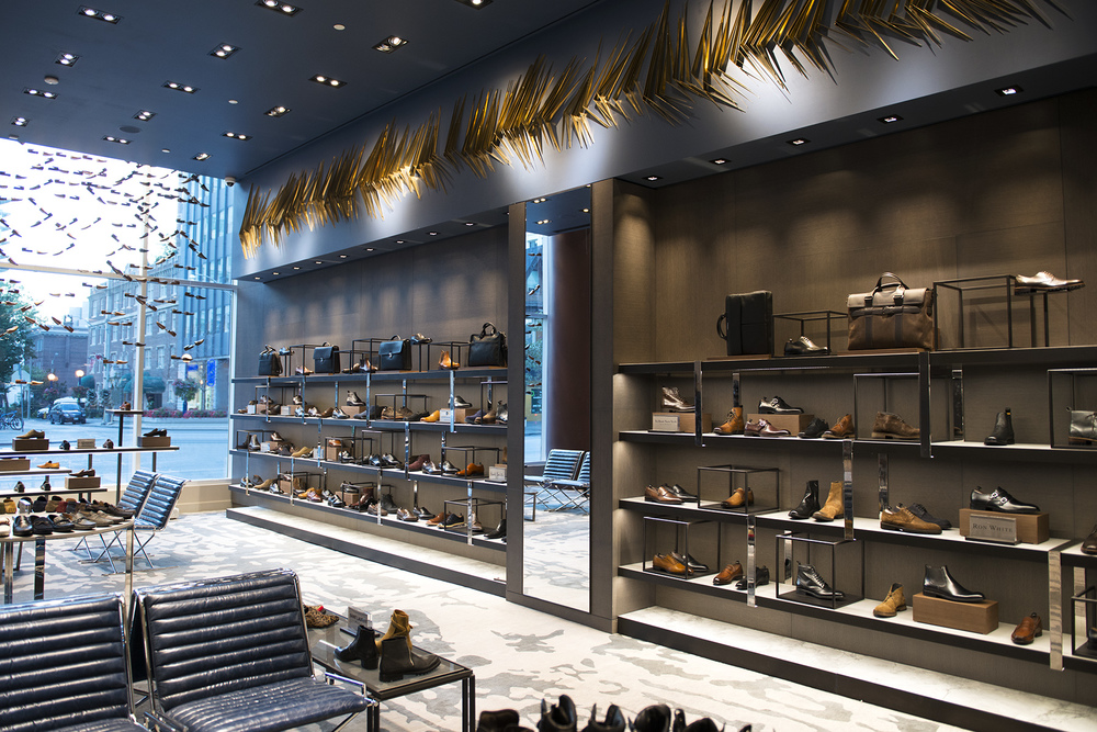 'Shoe hall' at Holt Renfrew Men. Photo: Holt Renfrew.