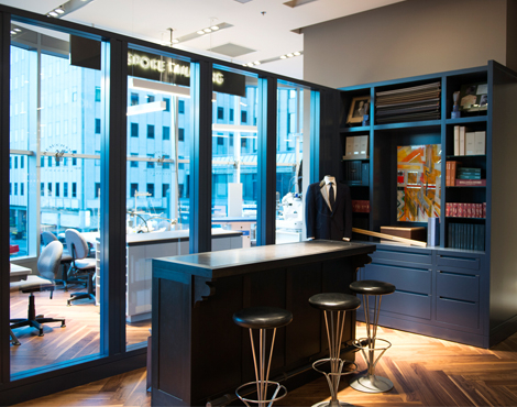 Bespoke tailoring. Photo: Holt Renfrew.