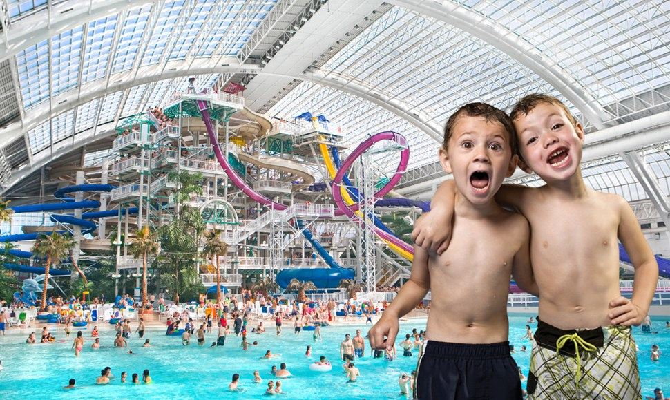 'World Waterpark'. Photo: West Edmonton Mall.