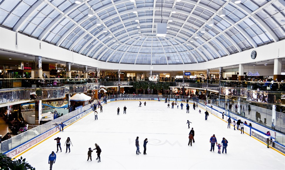 The 'Ice Palace'. Photo: West Edmonton Mall.
