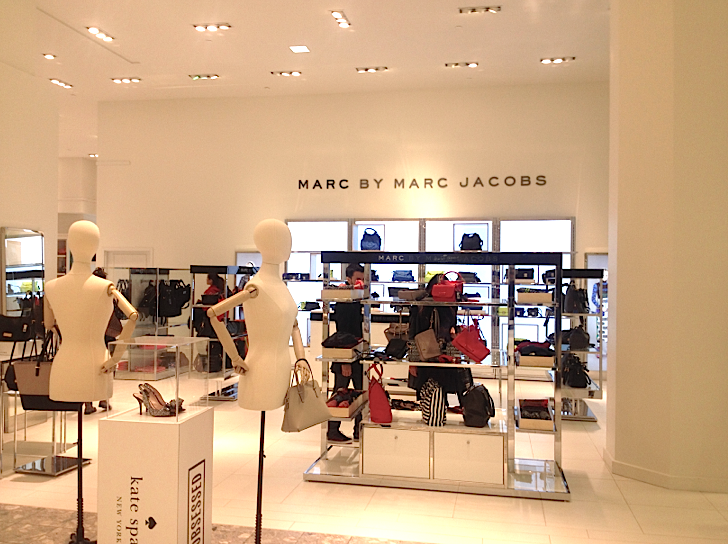 Marc by Marc Jacobs shop-in-store at Hudson's Bay, Vancouver. Photo: Craig Patterson