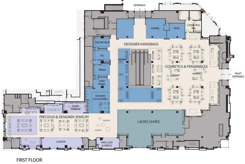 Click image for plans/photos: Neiman Marcus, Bellevue WA. Source:www.csparksco.com