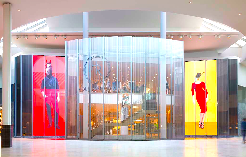 Entrance to Holt Renfrew, Yorkdale. Photo: Janson Goldstein.